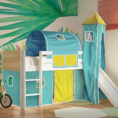 -κρεβάτι-μεσαίου-ύψους-DREAM-λευκό-οξιά-με-τσουλήθρα-ΤΙΡΚΟΥΑΖ-ΚΙΤΡΙΝΟ.jpg