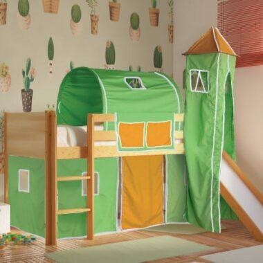 -κρεβάτι-μεσαίου-ύψους-DREAM-φυσικό-οξιά-με-τσουλήθρα-ΠΡΑΣΙΝΟ-ΠΟΡΤΟΚΑΛΙ.jpg